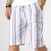 /achat-shorts-jogging/mtx-short-tm0135-blanc-bleu-marine-beige-180031.html