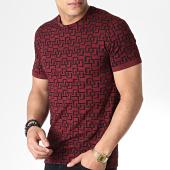 /achat-t-shirts/mtx-tee-shirt-tm0097-bordeaux-noir-180060.html