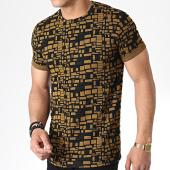 /achat-t-shirts/mtx-tee-shirt-tm0096-jaune-moutarde-noir-180061.html