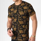 /achat-t-shirts/mtx-tee-shirt-tm0098-jaune-moutarde-noir-180064.html