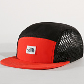 /achat-5-panel/the-north-face-casquette-5-panel-classic-v-3fkf-rouge-noir-179983.html