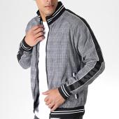 /achat-vestes/brave-soul-veste-zippee-avec-bandes-presley-noir-blanc-180084.html