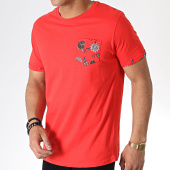 /achat-t-shirts-poche/brave-soul-tee-shirt-poche-149-ash-rouge-floral-180146.html