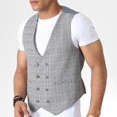 /achat-cardigans-gilets/classic-series-gilet-a-carreaux-18003-gris-180273.html