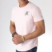 /achat-t-shirts-longs-oversize/final-club-tee-shirt-premium-fit-avec-broderie-221-rose-180275.html