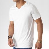 /achat-t-shirts/jack-and-jones-tee-shirt-col-tunisien-benjamin-blanc-180197.html