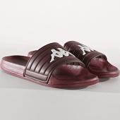 /achat-claquettes-sandales/kappa-claquettes-matese-304nc40-bordeaux-180193.html