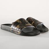 /achat-claquettes-sandales/kappa-claquettes-matese-304nc40-vert-kaki-camouflage-noir-180199.html