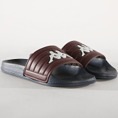 /achat-claquettes-sandales/kappa-claquettes-matese-304nc40-bordeaux-bleu-marine-180224.html