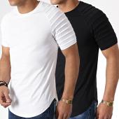 /achat-t-shirts-longs-oversize/lbo-lot-de-2-tee-shirts-oversize-694-noir-et-blanc-180282.html