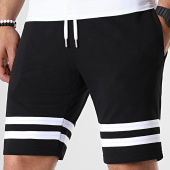 /achat-shorts-jogging/lbo-short-jogging-avec-bandes-blanches-670-noir-180289.html