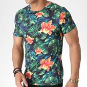 /achat-t-shirts/mtx-tee-shirt-tm0100-vert-floral-180137.html
