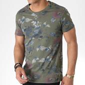 /achat-t-shirts/mtx-tee-shirt-zt5027-vert-kaki-floral-180202.html