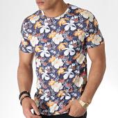 /achat-t-shirts/mtx-tee-shirt-tm0147-bleu-marine-floral-180213.html