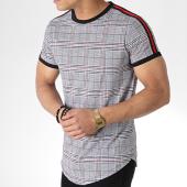 /achat-t-shirts-longs-oversize/mtx-tee-shirt-oversize-avec-bandes-tm0103-gris-noir-rouge-180228.html