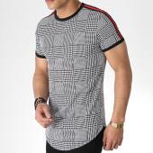 /achat-t-shirts-longs-oversize/mtx-tee-shirt-oversize-avec-bandes-tm0101-blanc-noir-180234.html