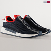 /achat-baskets-basses/tommy-hilfiger-jeans-baskets-technical-mesh-flexi-em0em00286-black-180238.html