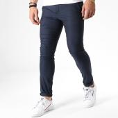 /achat-pantalons-carreaux/classic-series-pantalon-slim-7040-bleu-marine-180372.html