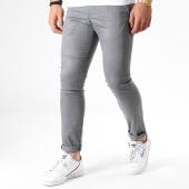 /achat-pantalons-carreaux/classic-series-pantalon-slim-7102-gris-chine-180375.html
