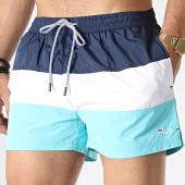/achat-maillots-de-bain/fila-short-de-bain-saloso-687203-bleu-turquoise-bleu-marine-blanc-180311.html