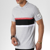 /achat-polos-manches-courtes/jack-and-jones-polo-manches-courtes-avec-bandes-wiskit-gris-180349.html