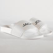 /achat-claquettes-sandales/jack-and-jones-claquettes-larry-blanc-180384.html