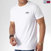 /achat-t-shirts/tommy-hilfiger-jeans-tee-shirt-modern-jaspe-4559-blanc-180399.html