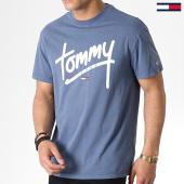 /achat-t-shirts/tommy-hilfiger-jeans-tee-shirt-handwriting-6478-bleu-marine-180411.html