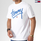 /achat-t-shirts/tommy-hilfiger-jeans-tee-shirt-handwriting-6478-blanc-180412.html