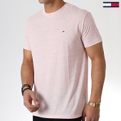 /achat-t-shirts/tommy-hilfiger-jeans-tee-shirt-linen-blend-6546-rose-chine-180418.html