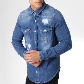 /achat-chemises-manches-longues/grj-denim-chemise-jean-manches-longues-13652-bleu-denim-180496.html