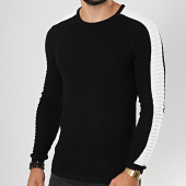 /achat-pulls/lbo-pull-avec-bandes-blanches-jum-01-noir-180506.html