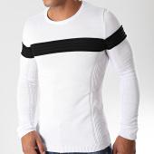 /achat-pulls/lbo-pull-avec-bande-noire-jum-06-blanc-180512.html