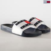 /achat-claquettes-sandales/tommy-hilfiger-jeans-claquettes-translucent-flag-em0em00292-bleu-marine-180485.html