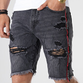 /achat-shorts-jean/classic-series-short-en-jean-a-bandes-th37508-gris-anthracite-180680.html