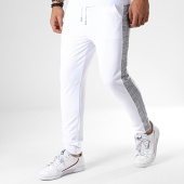 /achat-pantalons-carreaux/frilivin-pantalon-a-bandes-1596-blanc-180659.html