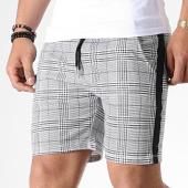 /achat-shorts-jogging/frilivin-short-a-carreaux-avec-bandes-1579-gris-clair-180712.html