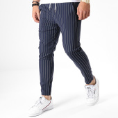 /achat-pantalons-carreaux/frilivin-pantalon-91498-bleu-marine-180721.html