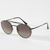 /achat-lunettes-de-soleil/ray-ban-lunettes-de-soleil-round-double-bridge-3614n-noir-180787.html