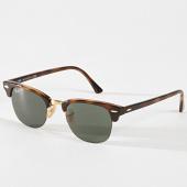/achat-lunettes-de-soleil/ray-ban-lunettes-de-soleil-clubmaster-rb4354-marron-180810.html