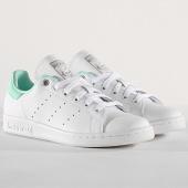 /achat-baskets-basses/adidas-baskets-femme-stan-smith-g27908-footwear-white-silver-metallic-clear-mint-180836.html