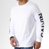 /achat-t-shirts-manches-longues/calvin-klein-tee-shirt-manches-longues-institutional-back-print-0404-blanc-180888.html