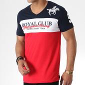 /achat-t-shirts/geographical-norway-tee-shirt-col-v-jice-rouge-bleu-marine-blanc-180876.html