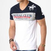 /achat-t-shirts/geographical-norway-tee-shirt-col-v-jice-bleu-marine-gris-blanc-180877.html