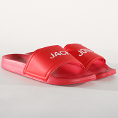 /achat-claquettes-sandales/jack-and-jones-claquettes-larry-rouge-180863.html