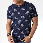 /achat-t-shirts/jack-and-jones-tee-shirt-floral-slam-bleu-marine-180883.html