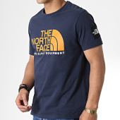 /achat-t-shirts/the-north-face-tee-shirt-fine-alpine-3rxk-bleu-marine-180886.html
