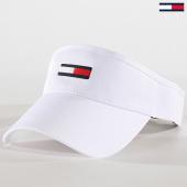 /achat-casquettes-de-baseball/tommy-hilfiger-jeans-visiere-femme-flag-6946-blanc-180830.html