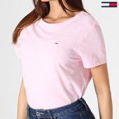 /achat-t-shirts/tommy-hilfiger-tee-shirt-femme-summer-essential-6691-rose-180857.html