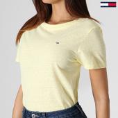 /achat-t-shirts/tommy-hilfiger-tee-shirt-femme-summer-essential-6691-jaune-180859.html